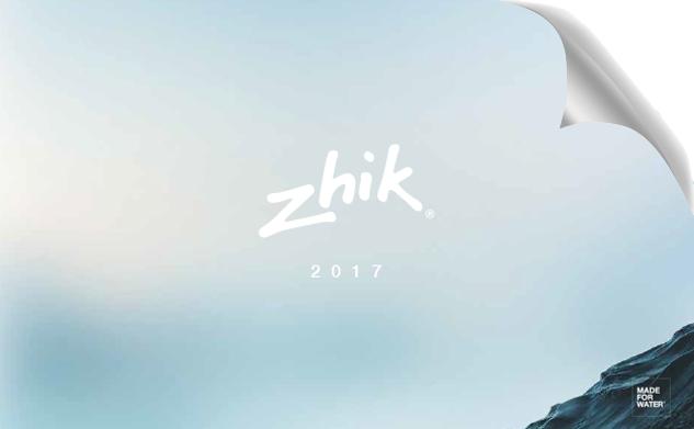Zhik Range Catalog:Zhik 製品カタログ